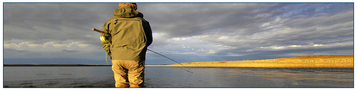 Sam's Baits testimonials featured image | a fisherman fishes on a still body of water